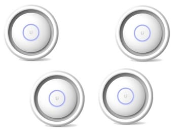 Ubiquiti Unifi UAP AC EDU AP/Hotspot/PA 4 Pack (No PoE Injectors)