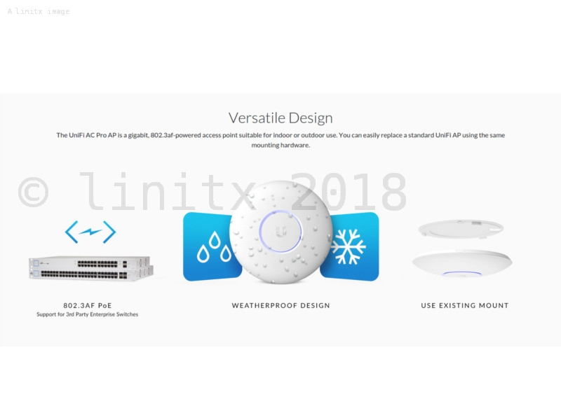 Ubiquiti Unifi AC Pro AP Wireless Access Point UAP-AC-PRO