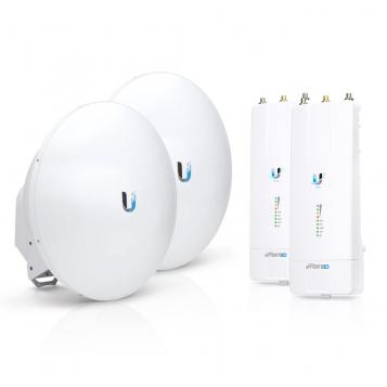 Ubiquiti airFiber Complete PtP Link Kit - 2 x AF-5XHD Radios + 2 x AF-5G23-S45 Dishes (23 dBi)
