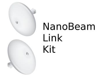 Ubiquiti airMAX NanoBeam 19 PTP Kit (up to 2Km)