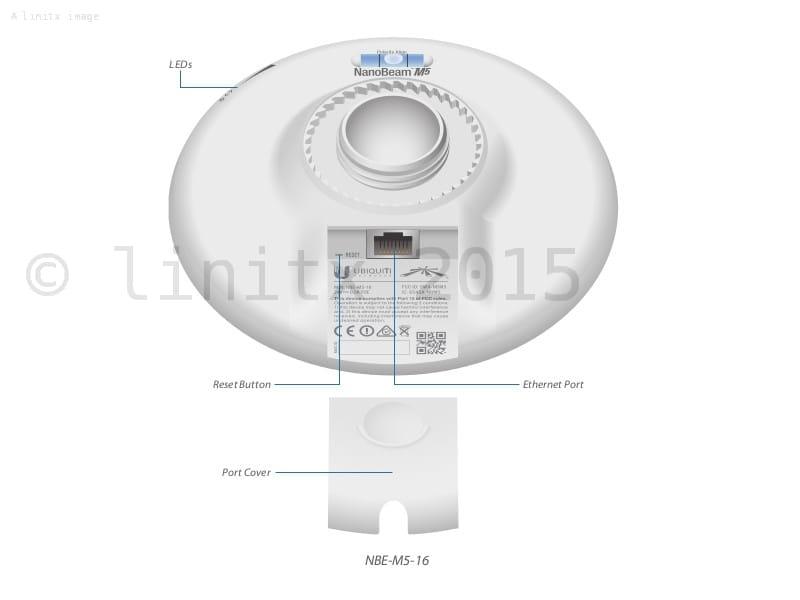Ubiquiti Airmax Ac Nanobeam 19dbi Nbe 5ac 19 Linitx
