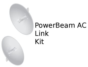 Ubiquiti airMAX PowerBeam AC PtP Kit (up to 10 Km HT)