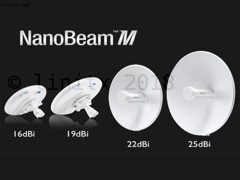 Ubiquiti Airmax Powerbeam M5 Network Bridge 25dbi Pbe M5