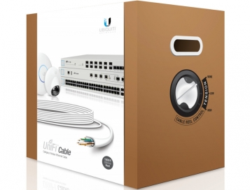 Ubiquiti UniFi Indoor UTP Cat6 Ethernet Cable 1000 Feet (305m) - UC-C6-CMR