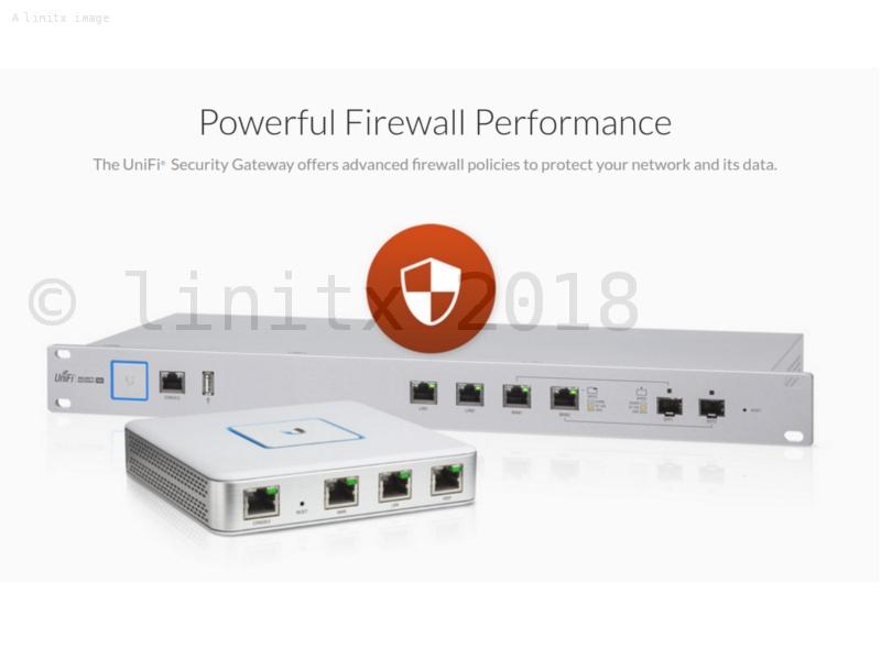 Ubiquiti UniFi Security Gateway Pro 4 Port VPN Firewall