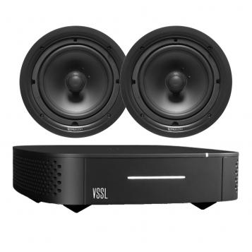 VSSL A.1 Streaming Amplifier + 2 x FREE TruAudio PP-6 Speakers