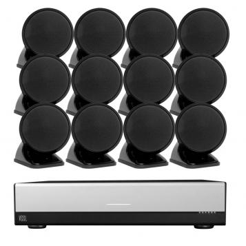 VSSL A.6 Streaming Amplifier + 12 x FREE TruAudio SAT3 Speakers