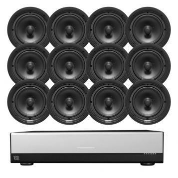 VSSL A.6 Streaming Amplifier + 12 x FREE TruAudio PP-6 Speakers