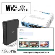 WiFi Partners WiFi Portal - Mikrotik Lite Portal Licence 542 (buy 2 months get 5)