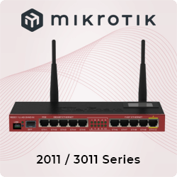 MikroTik 2011/3011 Series Routers