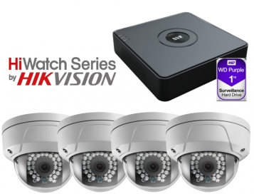 HiWatch IP CCTV Kit